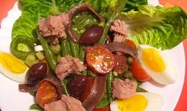 Salát Niçoise 2