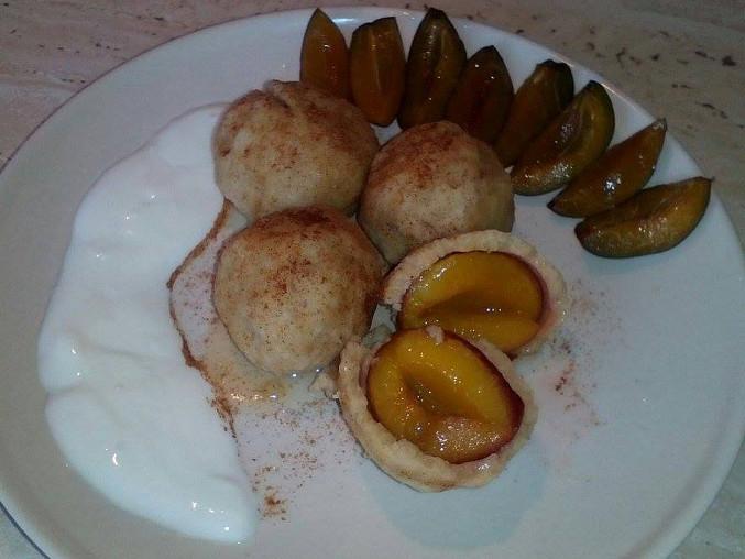 Výborné a zdravé ovocné kuskusové knedlíčky