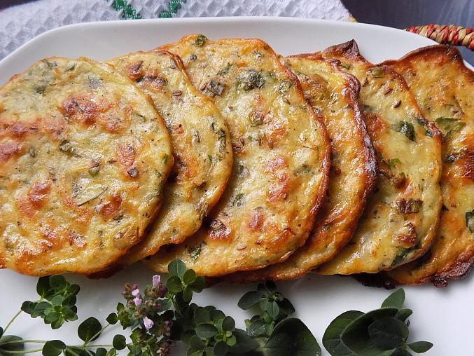 Bylinkové bramboráky z trouby