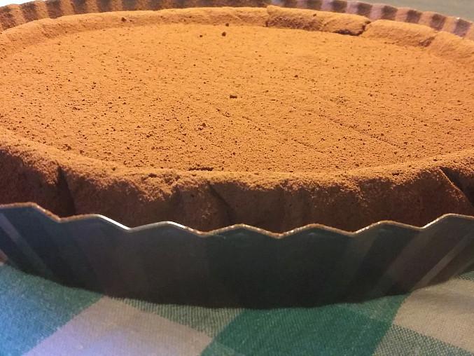 Čokoládový koláč z cizrny
