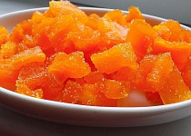 Kandovaná dýně s příchutí pomeranče