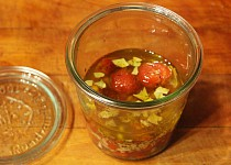 Rychlá marinovaná cherry rajčátka