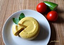 Veganský cizrnový sýr (bez ořechů, soji a agaru)