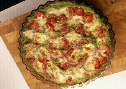 Brokolicová pizza bez mouky, Brokolicová pizza bez mouky
