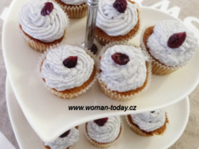 Levandulové cupcakes, Pro návštěvy ke kávě jak dělané.