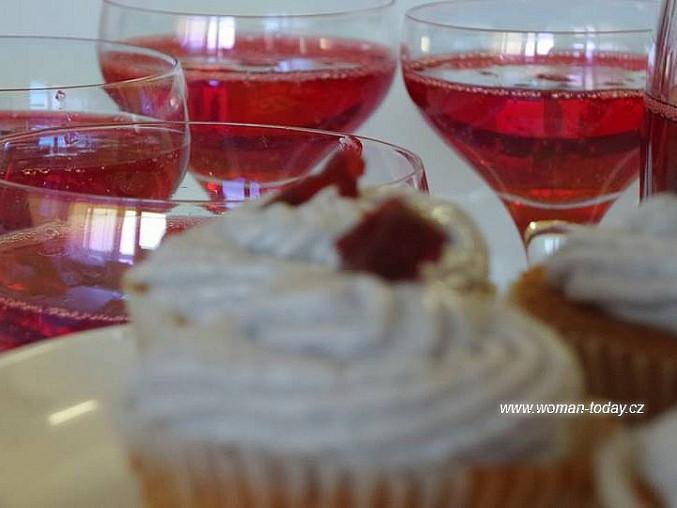 Levandulové cupcakes, Ani nemusí být slavnostní příležitost, stačí chuť.
