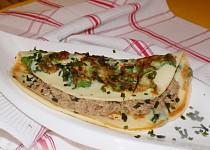 Mangoldové omelety s tuňákem