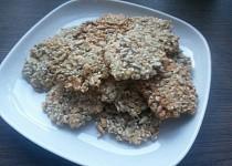 Oříškovo-semínkové sušenky