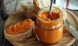 Pomazánka z pečených paprik (veggie)