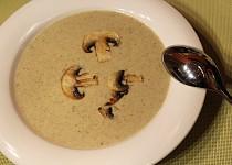 Pórková polévka se žampiony