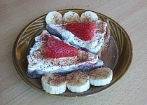 Pudinkový koláč zdravě