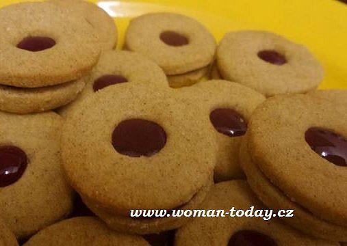 Zdravější linecké, Linecké cukroví z žitné mouky. Vánoce 2015
