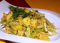Bramborovo-fenyklový salát