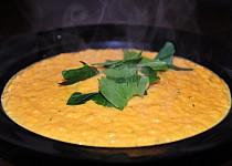 Krémová polévka z pečených mrkví