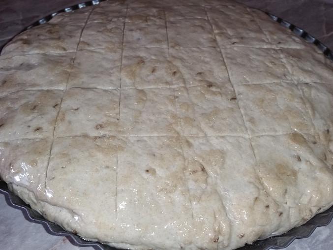 Polotmavý domácí chléb