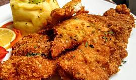 Smažené filety z limandy obecné