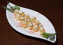 Amuse-bouche z listového těsta
