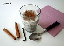 Chia pudink – základní recept
