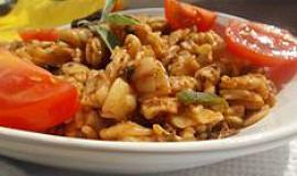Těstoviny s hříbky