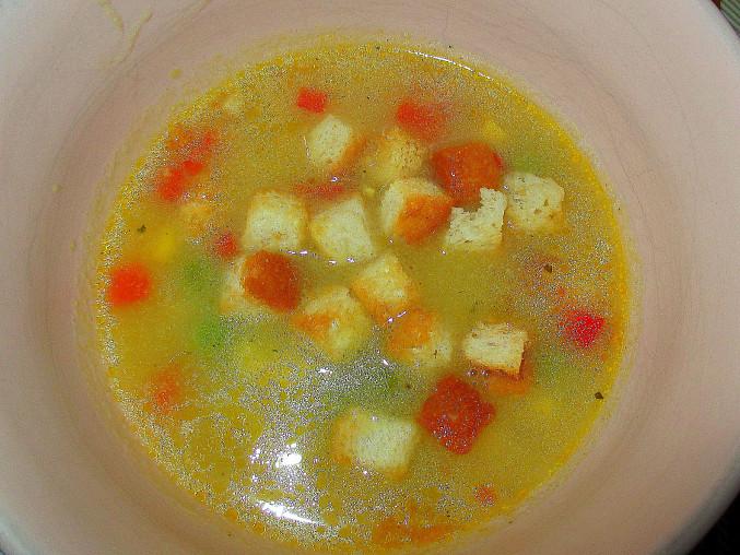 Kukuřičná alias bolivijská polévka
