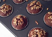 Lehoučké čokoládové muffiny