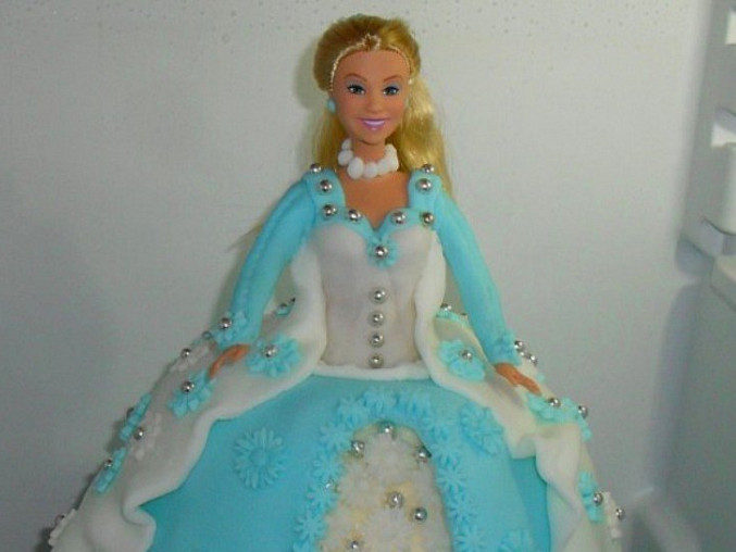 Panenka z bábovkového těsta