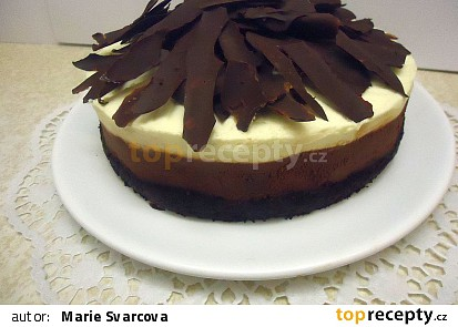 Čokoládový pěnový dort