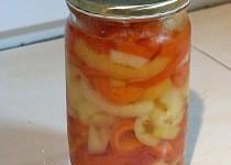 Sladkokyselá světlá paprika do svačinových salátů