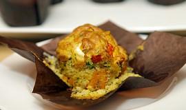 Slané dýňové muffiny