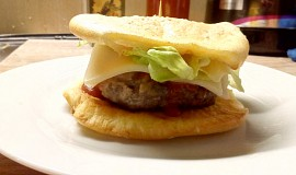 Fitness hamburger
