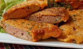 Kachní játra v sýrovo-česnekovém těstíčku