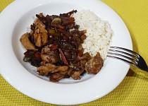 Kuře v čínské směsi
