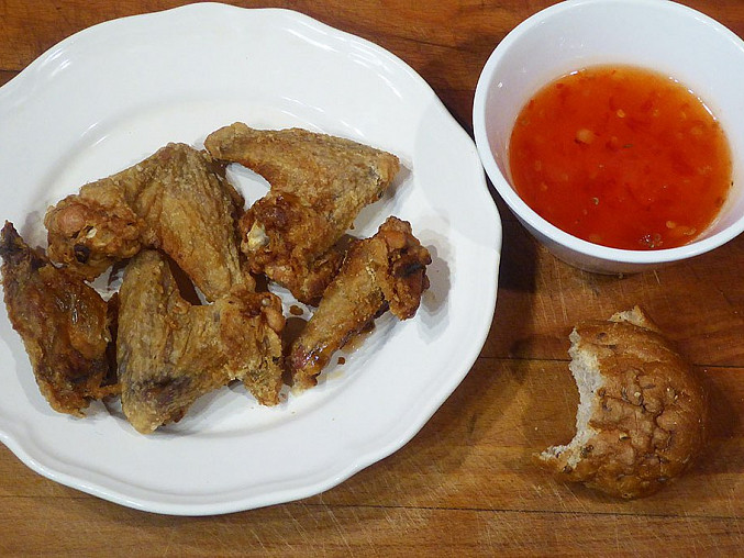 Kuřecí křídla pečená ve 3 krocích, Kuřecí křídla pečená ve 3 krocích