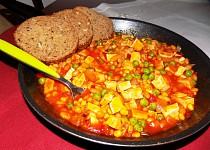 Mexický tofu guláš
