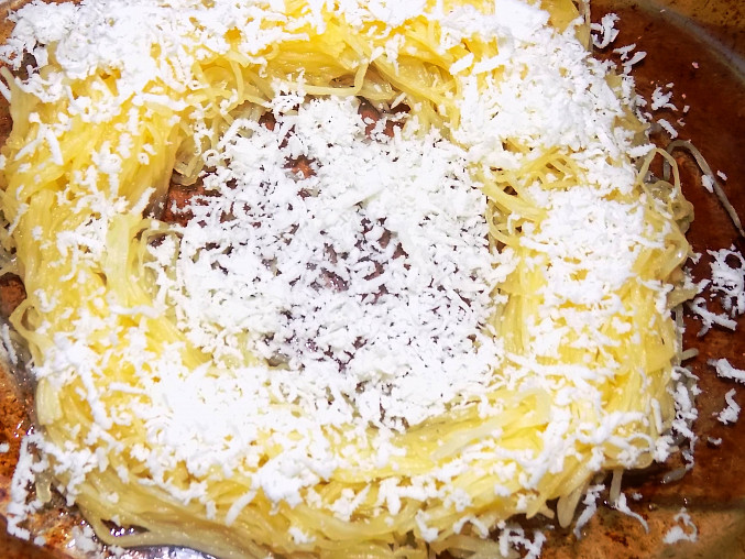 Oko ze špagetové dýně