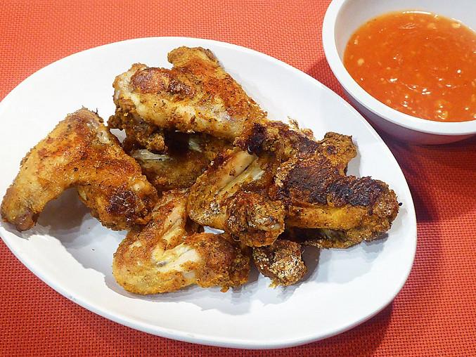 Pečená kuřecí křídla bez oleje, Pečená kuřecí křídla bez oleje