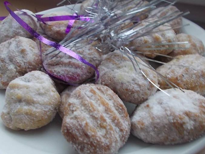 Vánoční  cukroví (s pomocí vidličky)