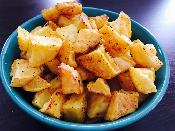 Domácí pečené brambory s kořením, Domácí pečené brambory s kořením