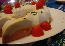 Dvoubarevný  dortík z Nivy