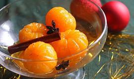 Novoroční kořeněné mandarinky