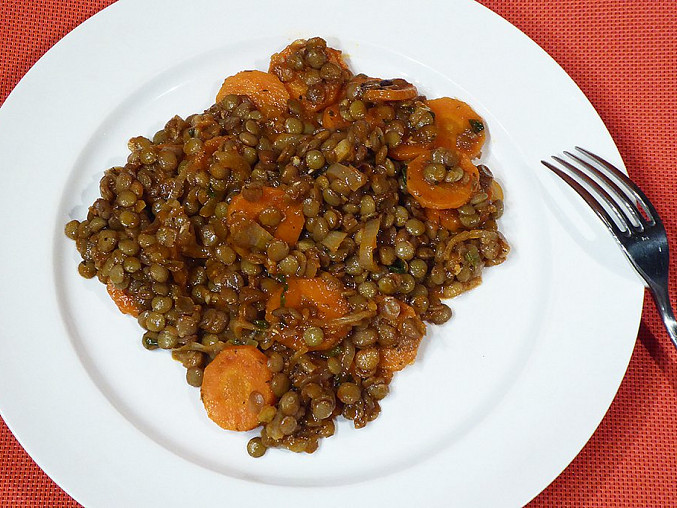 Turecká čočka s mrkví, Turecká čočka s mrkví