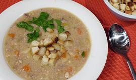 Vánoční rybí polévka z kapra a sumce