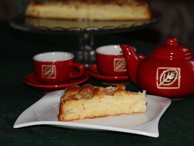 Rychlý vrstvený jablkový koláč