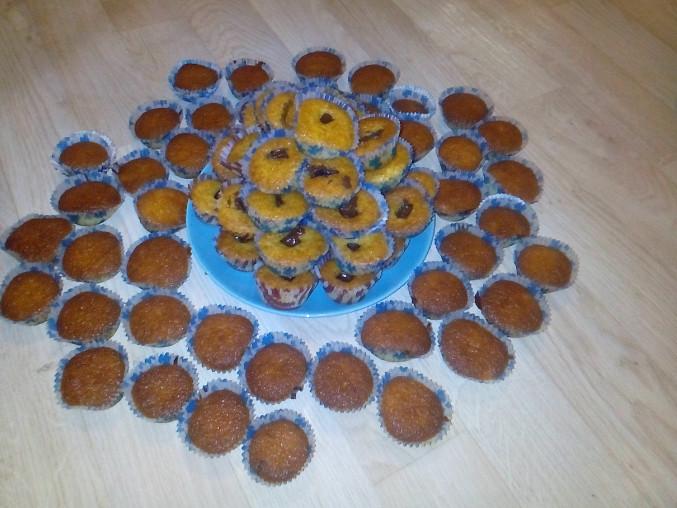 Výborné jednoduché muffiny