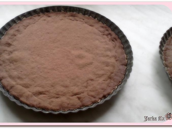 Výtečný tvarohový koláč s kakaovou drobenkou