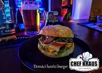 Domácí hovězí burger od Chefkraus