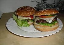 Domácí vepřové hamburgery