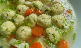 Ricottové knedlíčky do polévky