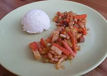 Zeleninová směs s rýží