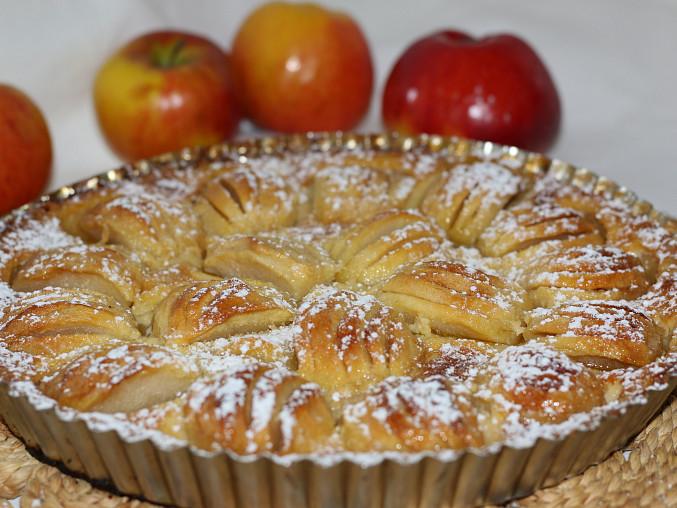 Alsaský jablečný koláč